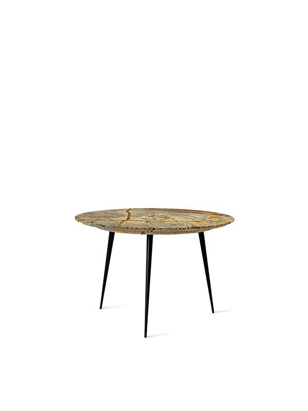 Disc bord med marmor fra Mater