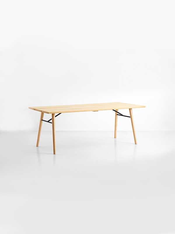 Split spisebord fra Woud