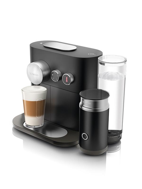 Expert&Milk C85 kaffemaskine, sort fra Nespresso