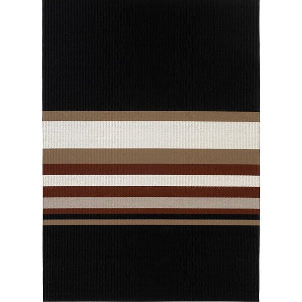 Horizon Black Reddish Brown tæppe fra Woodnotes