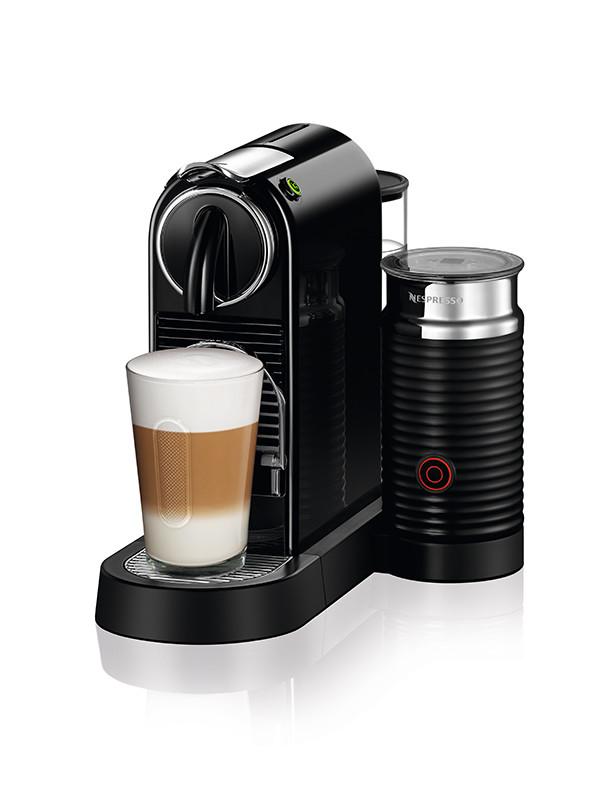 CitiZ&Milk kaffemaskine, sort fra Nespresso