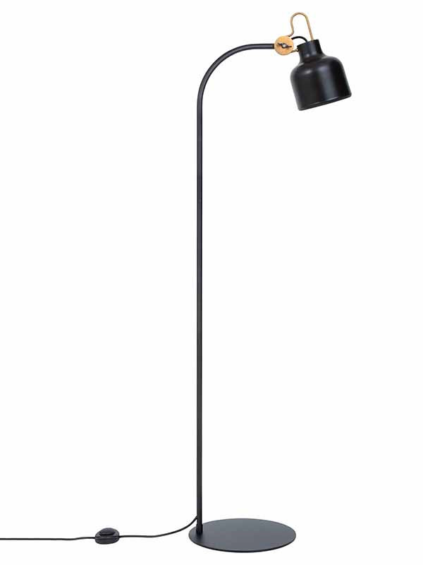 Bolb gulvlampe fra Konsthantverk