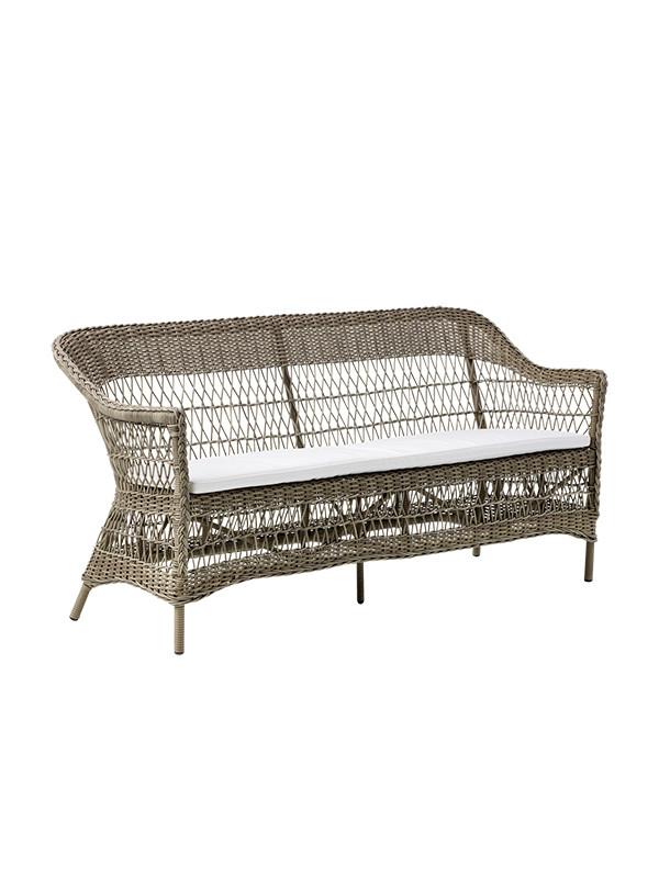 Georgia Garden Charlot 3-pers sofa fra Sika-Design