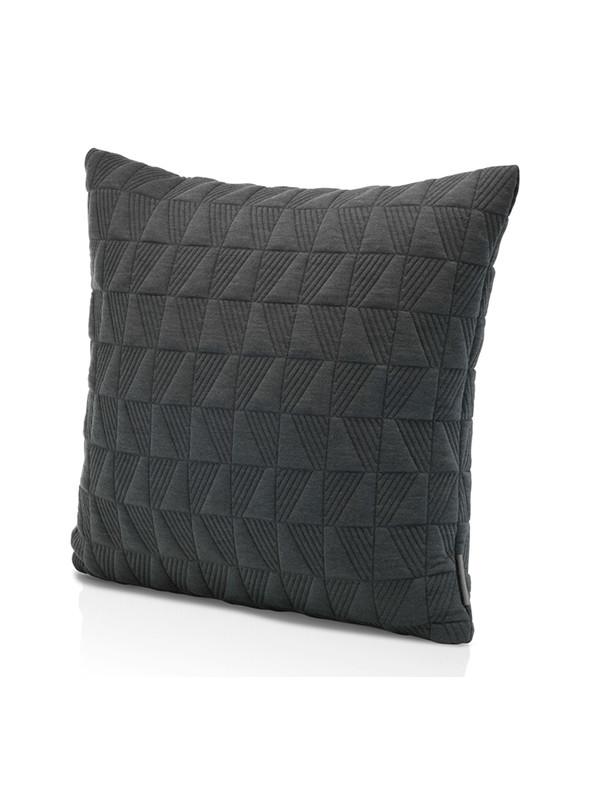 Trapez pude 50x50 i dark grey af Arne Jacobsen