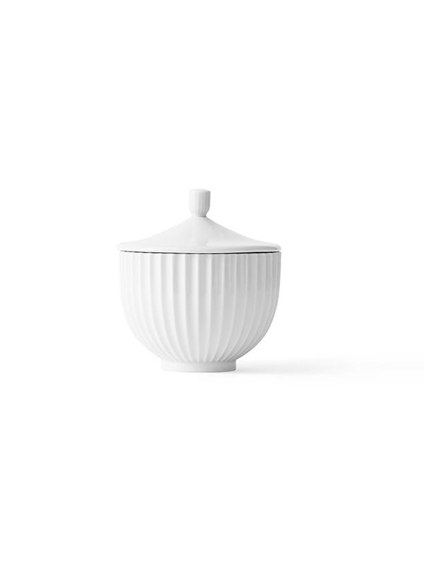 Bonbonniere i porcelæn fra Lyngby Porcelæn