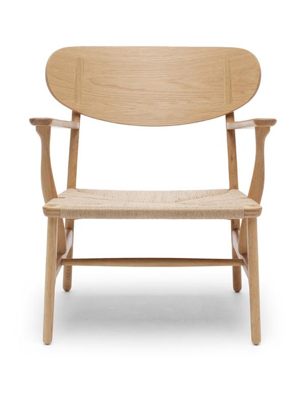 CH22 loungestol af Hans J. Wegner