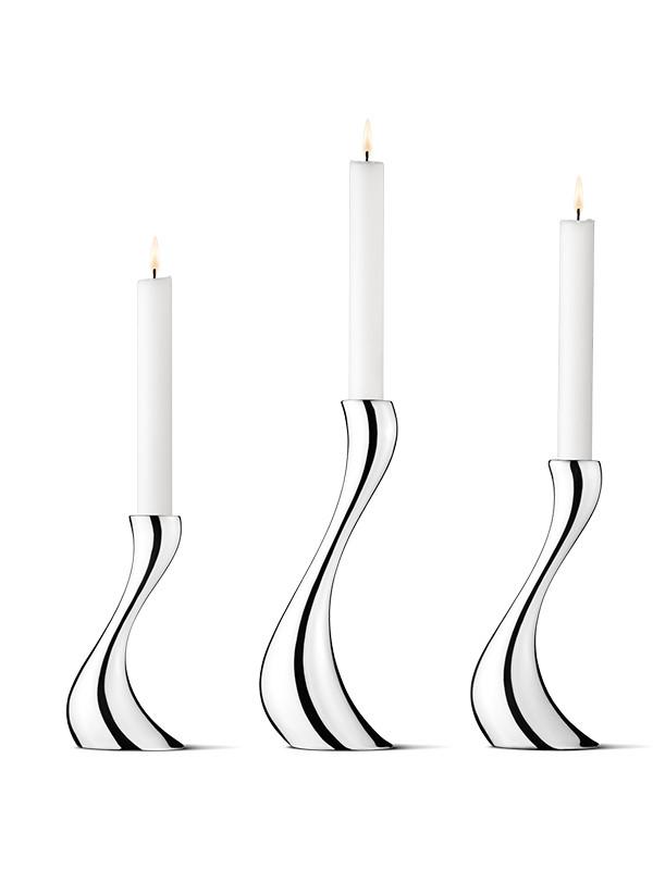 Cobra lysestager fra Georg Jensen