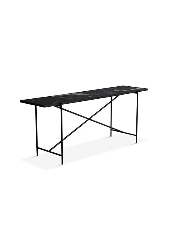 Konsolbord, sort marmor fra HANDVÄRK