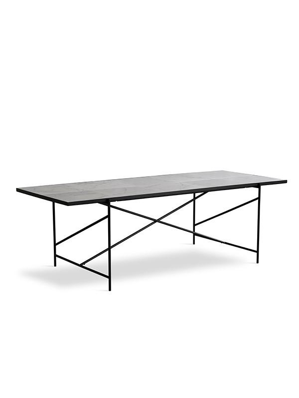 Spisebord 230, hvid marmor fra HANDVÄRK