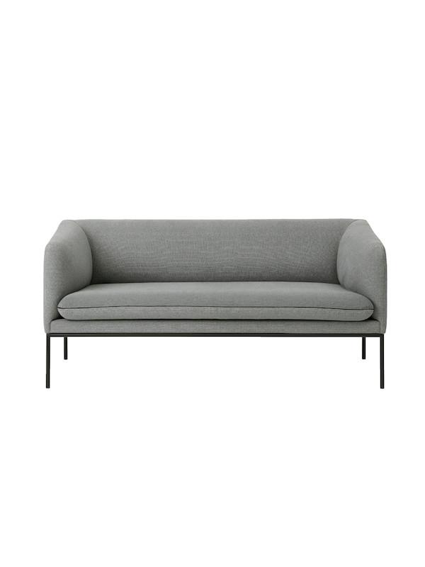 Turn sofa - fiord by kvadrat - 2 seater fra Ferm Living