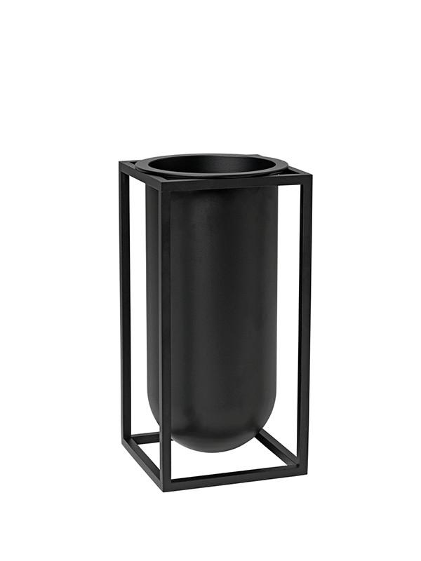Kubus vase Lily i sort fra By Lassen
