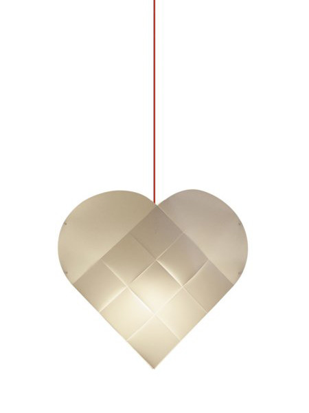 Julelampe, hjerte fra Le Klint
