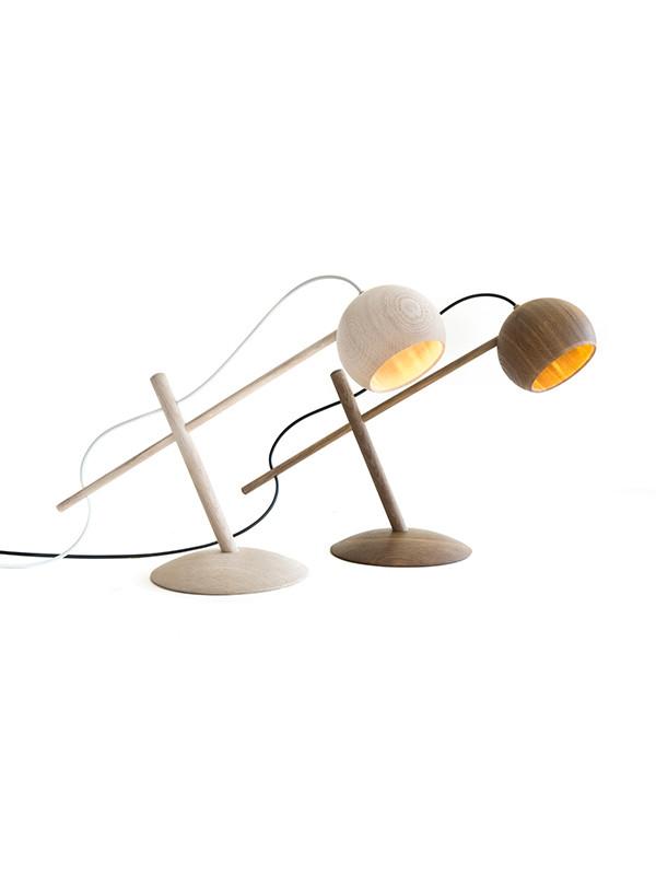 Lune bordlampe fra Brdr. Krüger