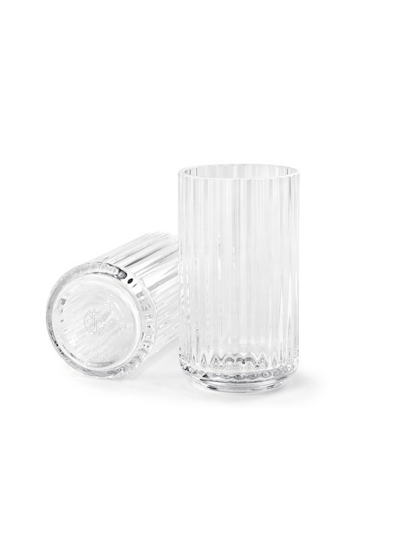 Lyngbyvasen i klar glas fra Lyngby Porcelæn
