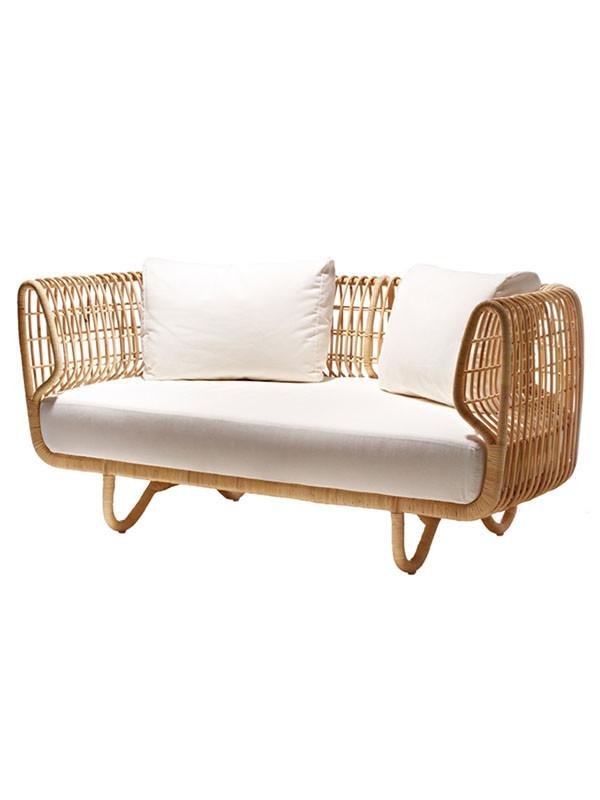 Nest lounge sofa fra Cane-line