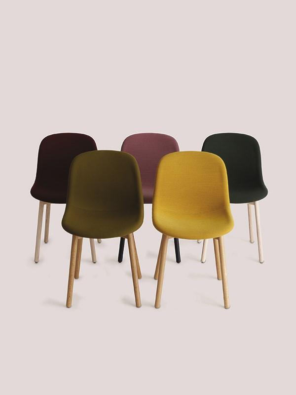 Neu 13 stol, fuldpolstret fra Hay