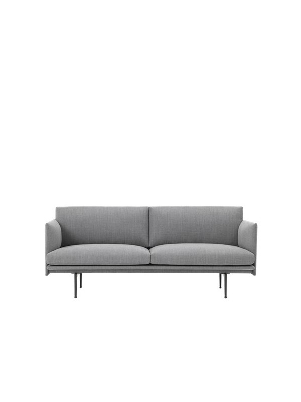 Outline 2 pers. sofa fra Muuto