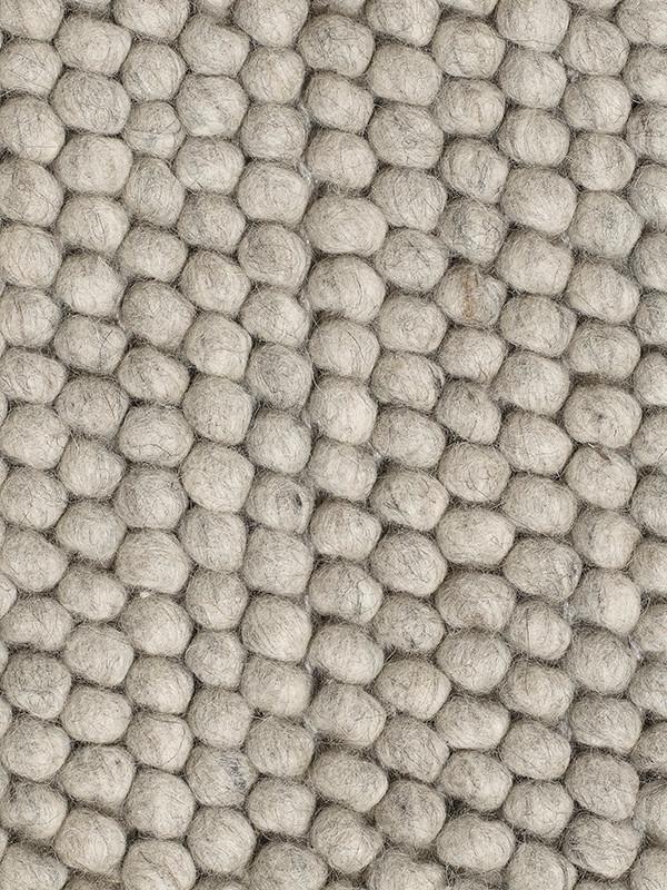 Peas tæppe, soft grey fra Hay