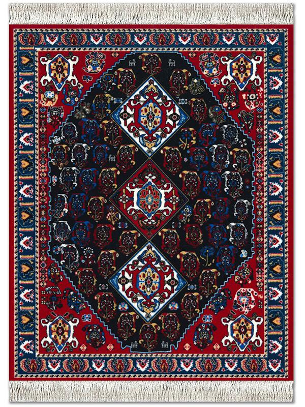 Persian Qashqai Carpet musemåtte fra MouseRug