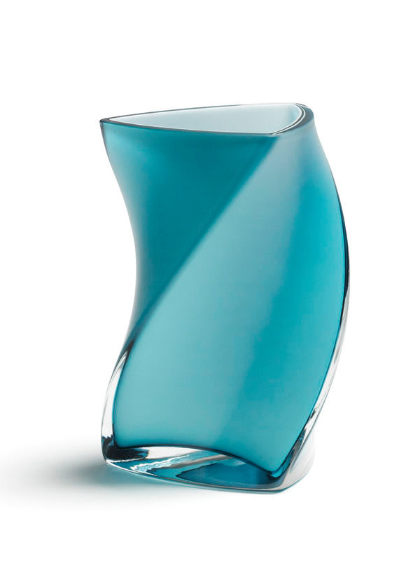 Twister vase fra Piet Hein (Blå)