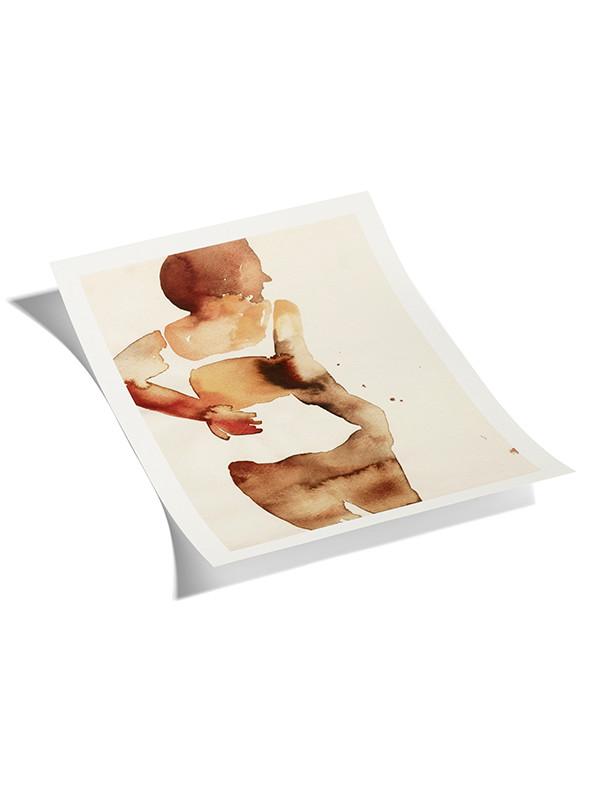 Plakat Anna Bjerger - 4 white fra Hay
