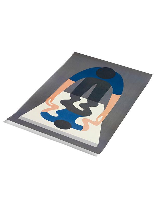 Plakat Geoff Mcfetridge - 1 blue fra Hay