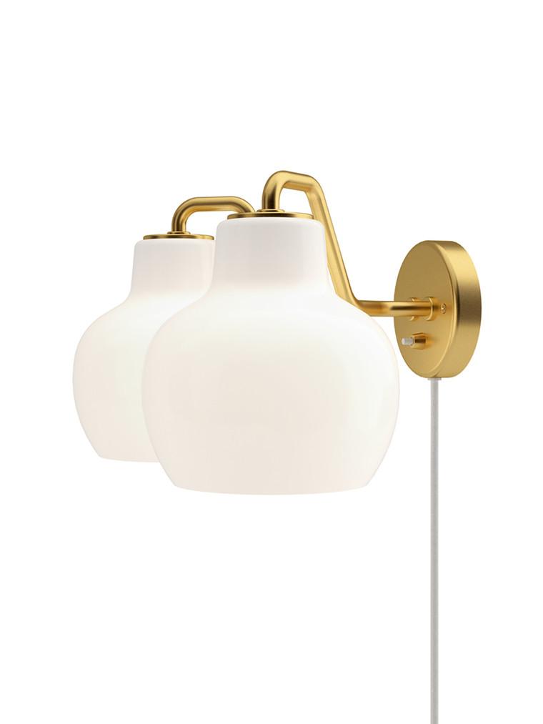 VL Ringkrone, dobbelt væglampe fra Louis Poulsen