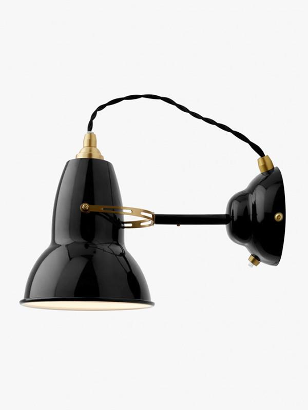 Original 1227 messing væglampe fra Anglepoise