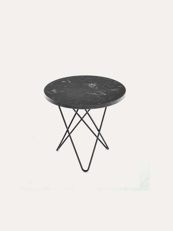 Mini O Table Marble og eg fra OX Denmarq