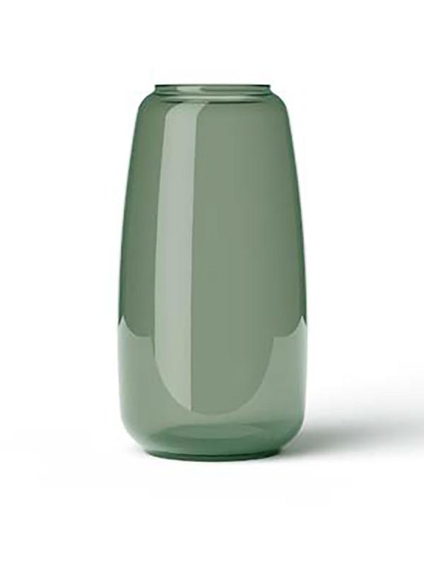 Form 130 vase, grøn fra Lyngby Porcelæn