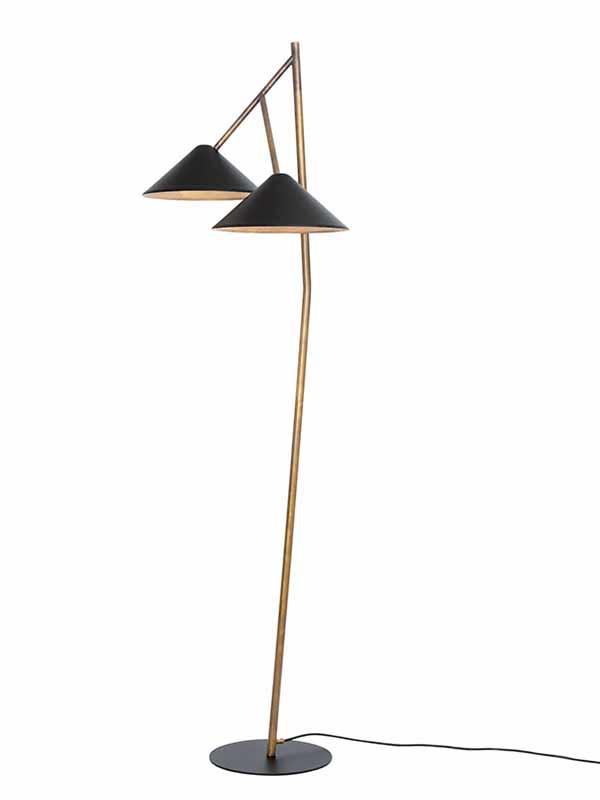 Grenverk gulvlampe fra Konsthantverk