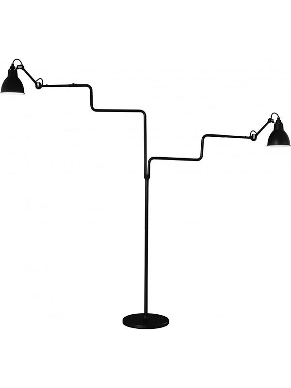 Nr. 411 dobbelt gulvlampe fra Lampe Gras
