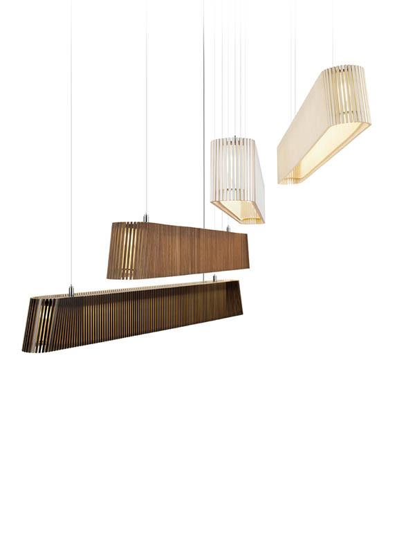 Owalo 7000 pendel fra Secto Design