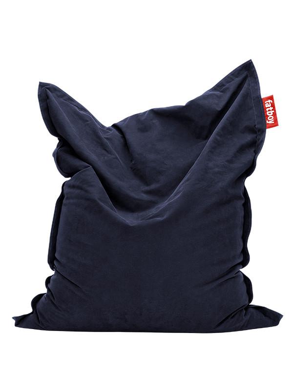 Mørkeblå, Original Stonewashed sækkestol fra Fatboy