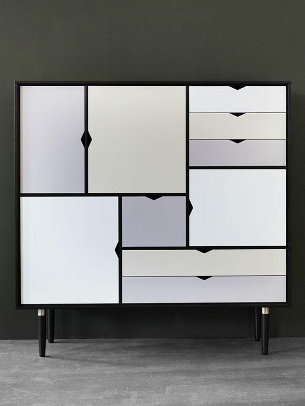 S3 opbevaringsmøbel i sort fra Andersen Furniture
