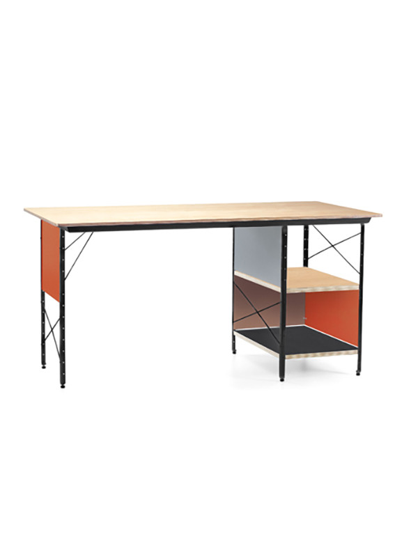 Eames Desk Unit, EDU-Skrivebord fra Vitra