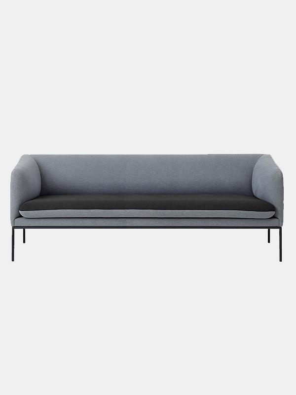 Turn sofa - cotton - 3 seater fra Ferm Living