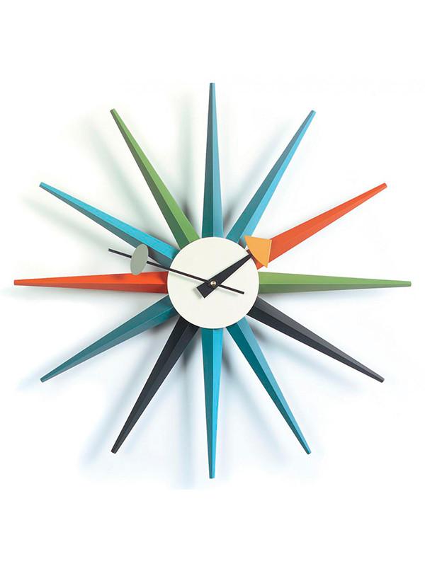 Sunburst clock fra Vitra