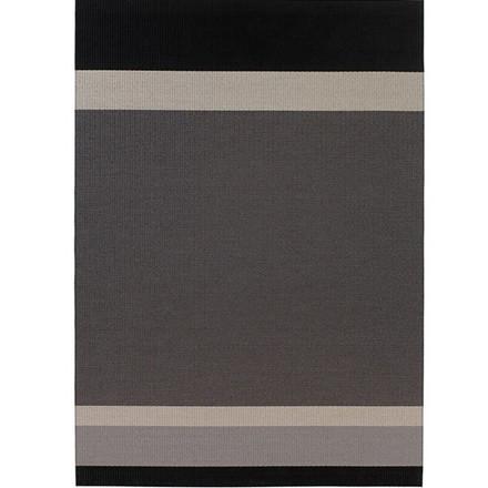 Panorama Black Light Grey tæppe fra Woodnotes
