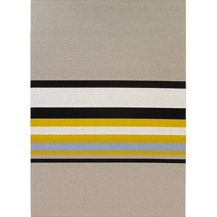 Horizon Stone Yellow tæppe fra Woodnotes