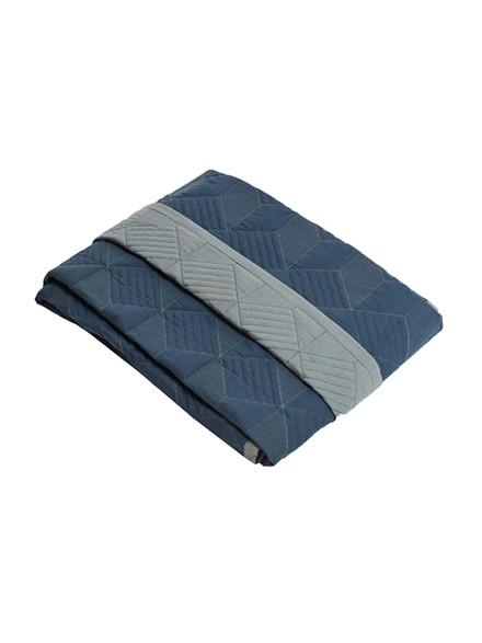 Sengetæppe, blå fra SemiBasic