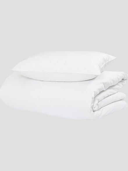 Pure White sengelinned fra Hästens