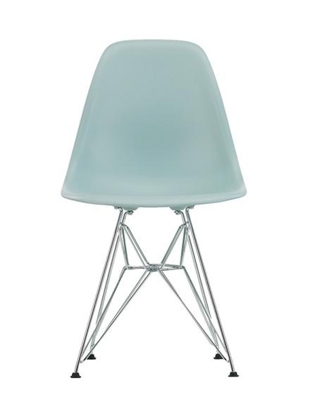Eames Plastic Side Chair (DSR), forkromet