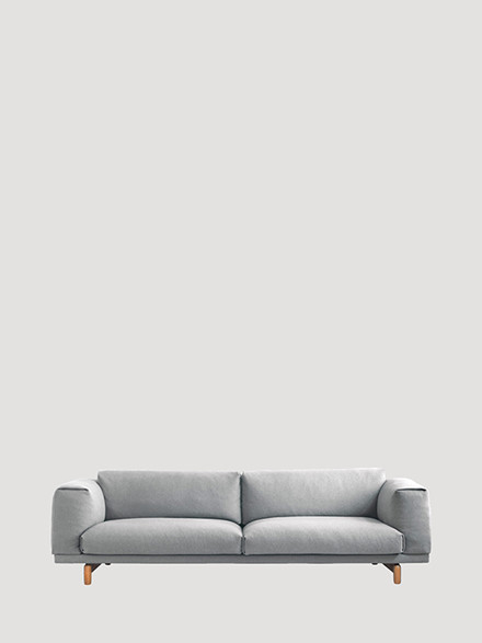 Rest 3 pers. sofa fra Muuto