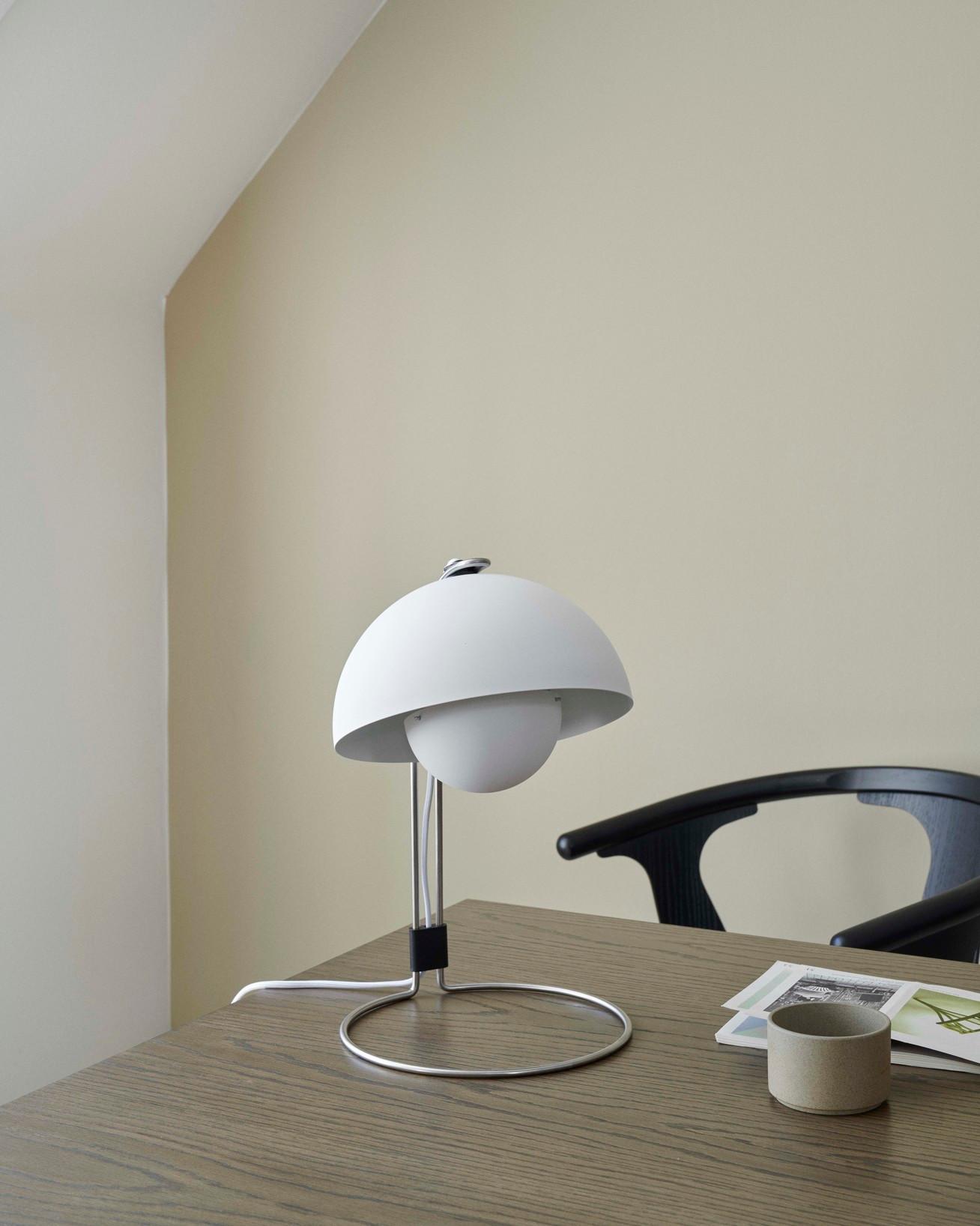 Picture of: Flowerpot Bordlampe Kob Verner Panton Vp4 Lampe Her