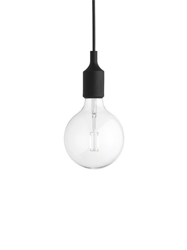 Modernistisk Muuto E27 Socket lampe | Køb fatning med LED pære her ZR-95
