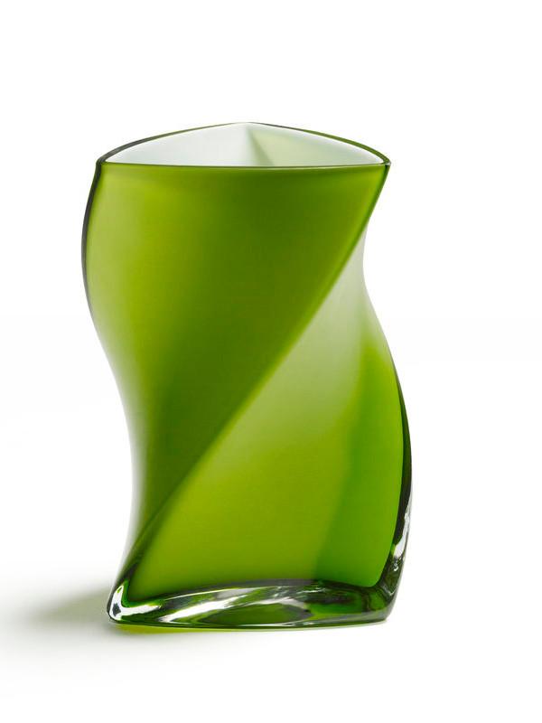 Twister vase fra Piet Hein (Lime)