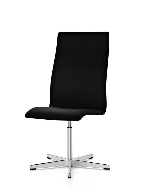 oxford stol 3173c k b stolen fra fritz hansen fri fragt. Black Bedroom Furniture Sets. Home Design Ideas