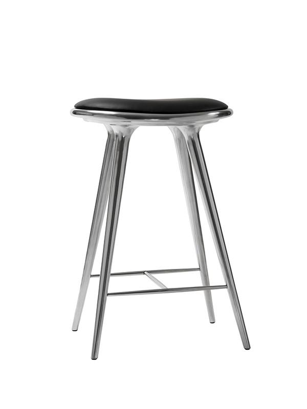 Lav barstol i aluminium fra Mater