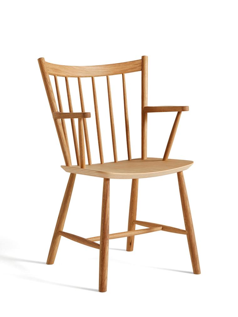 FDB J42 stol med armlæn fra Hay